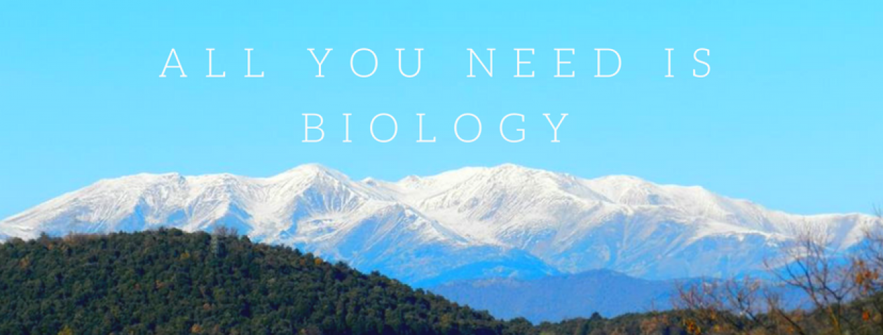 All you need is Biology